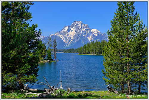 Half Moon Bay in Grand Teton National Park