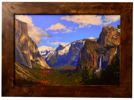 Yosemite Valley Custom Framed Print