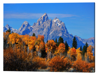 Autumn Peak Beneath The Peaks