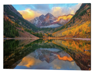 Maroon Bells Autumn Reflections
