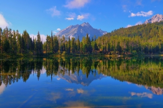 Bearpaw Lake Reflections