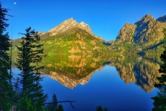 Jenny Lake Morning Reflections
