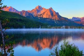 Stanley Lake Dawn