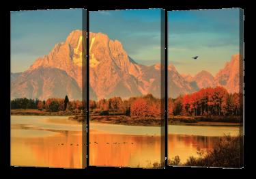 Oxbow Dawn Triptych