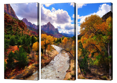 Virgin River Triptych