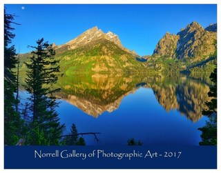 2017 Nature Photography Calendar from the Norrell Gallery of Photographic Art