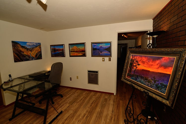 art gallery office
