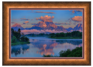 Moran Morning Framed Print
